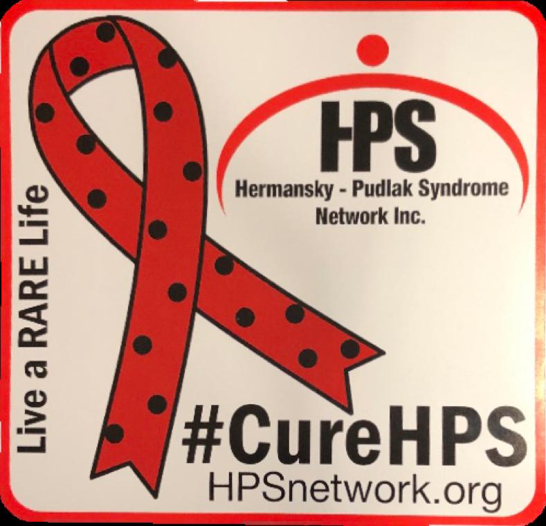 HPS Awareness Car Magnet
