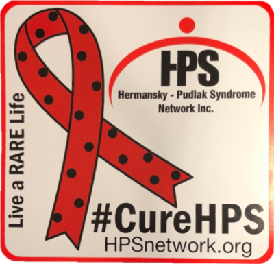 HPS Awareness Car Magnet