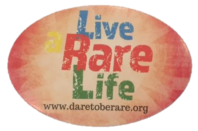 Dare to Be Rare Car Magnet