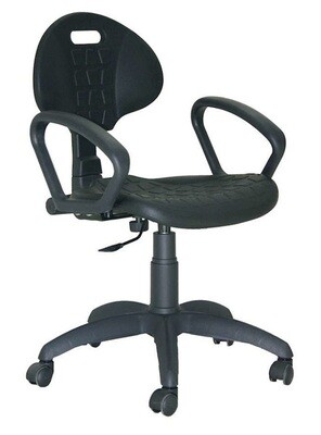 Silla Sonia Contacto Permanente. Respaldo y asiento de poliuretano.