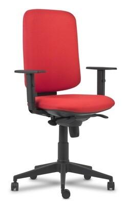 Silla Elina Sincro. Respaldo y asiento tapizado.