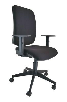 Silla Signo Sincro. Respaldo y asiento tapizado.