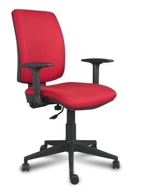 Silla Signo Contacto Permanente. Respaldo y asiento tapizado.