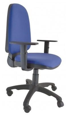 Silla Koral Alta Contacto Permanente. Respaldo y asiento tapizado.