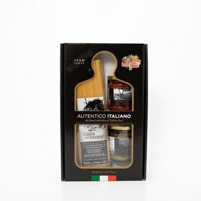 giftset spaghetti 500g. saus & pesto BELLA ITALIA