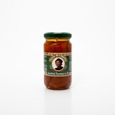 zongedroogde tomaatjes 185gr TERRE DI LIGURI