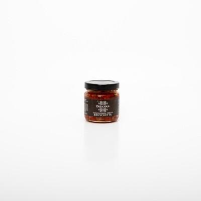 Zongedroogde Tomaat Bruschetta - Delicious