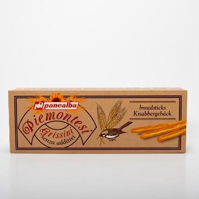 Grissini Piemontesi breadsticks wit 125gr