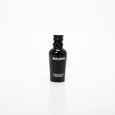 Bulldog Gin fles (mini) 5cl