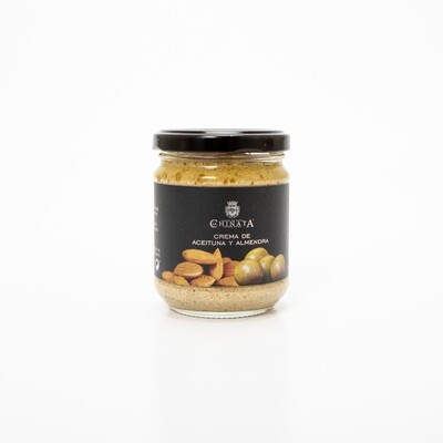 Groene Olijven en Amandelen Crème -La Chinata