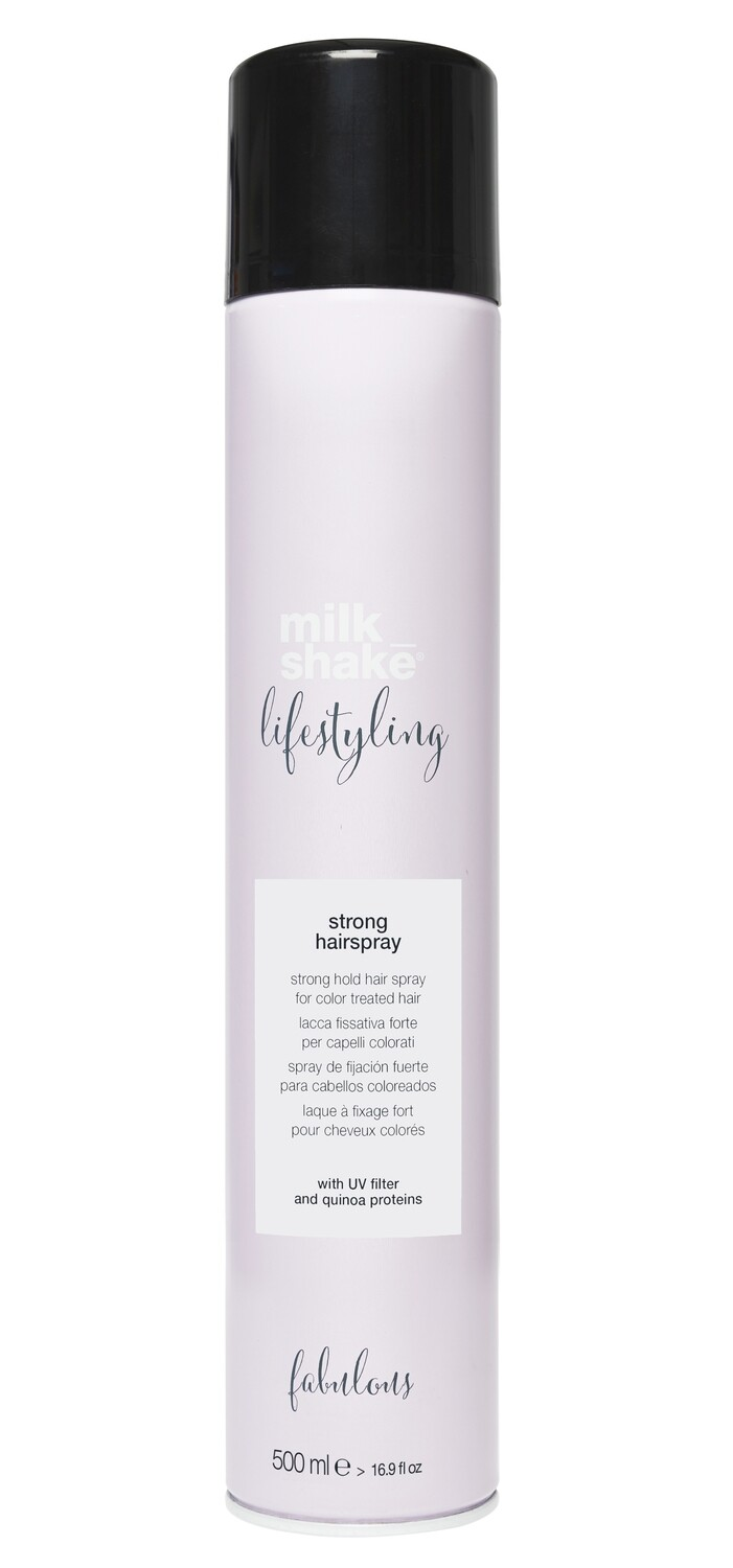 Strong hold hairspray 500ml