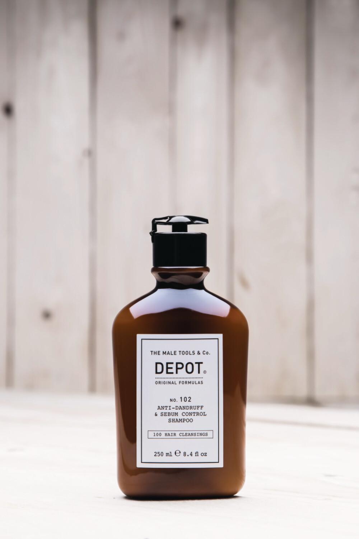 No. 102 Anti-dandruff & sebum control shampoo 250ml