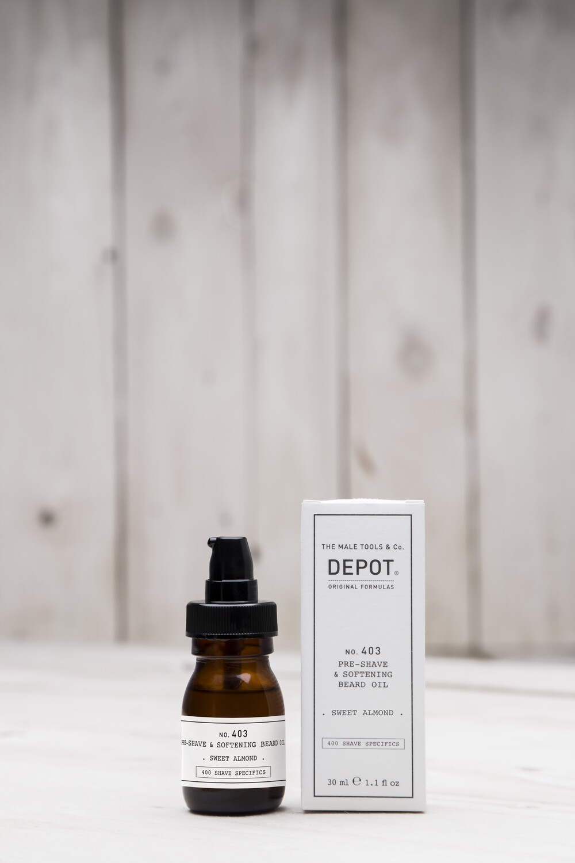 No. 403 Pre-shave & softening beard oil