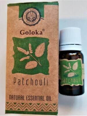 Patchoulie 100 % natuurlijk 10 ml GOLOKA