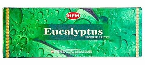 HEM EUCALYPTUS 120 st INCENCES PER DOOS