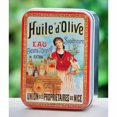 blikje MARSEILLE ZEEP WISLA VLAANDEREN huile d'olive