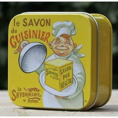 blikje MARSEILLE ZEEP WISLA VLAANDEREN Voor De Kok in de keuken