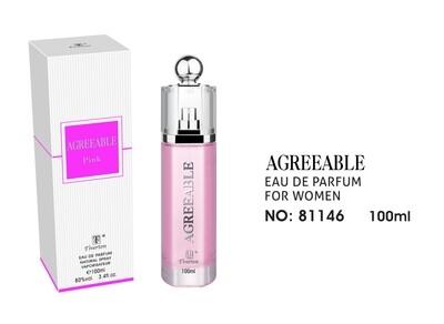 Eau De Parfum 100 ml AGREEABLE Pink WISLA VLAANDEREN