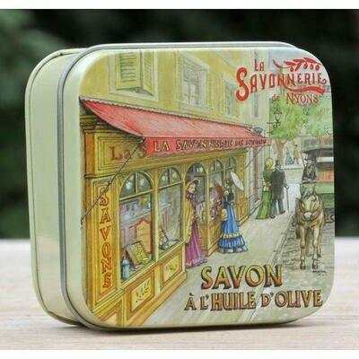 blikje MARSEILLE ZEEP WISLA VLAANDEREN boutique la savonnerie