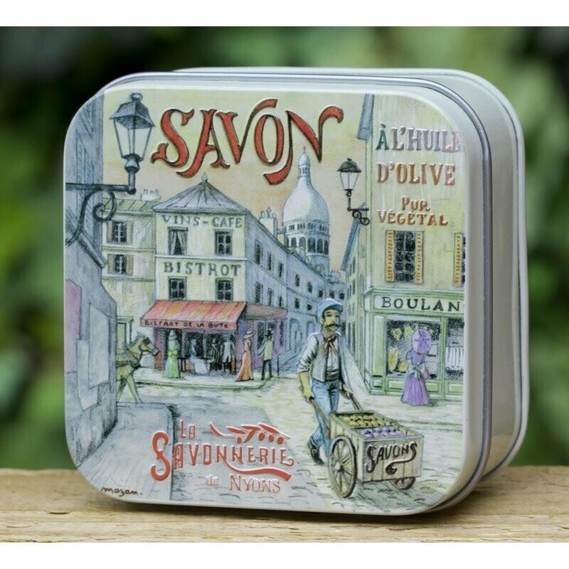blikje MARSEILLE ZEEP WISLA VLAANDEREN Montmartre