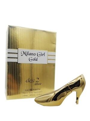 Eau De Parfum CLOSE2 DELUXE MILANO GIRL GOLD WISLA VLAANDEREN Pour Femme SHOE