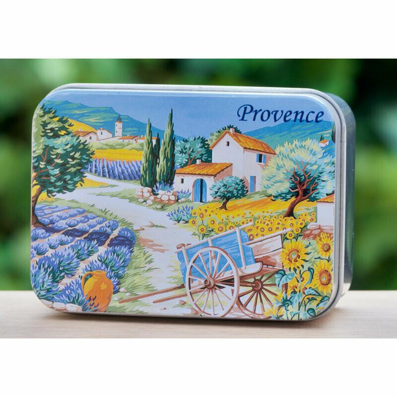 Blikje zeep Provence WISLA VLAANDEREN