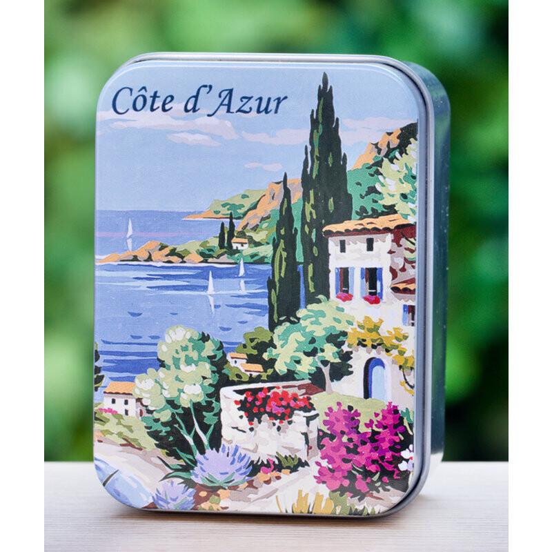 Blikje zeep Côte d'Azur WISLA VLAANDEREN