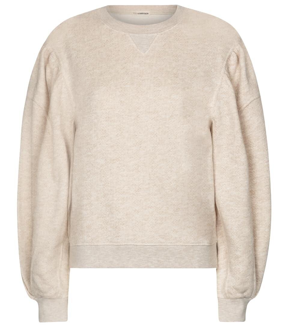 Ulla Johnson Sweatshirt Ava aus Baumwolle