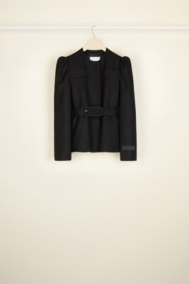 PATOU Kurz geschnittene Jacke aus Tricotin-Wolle