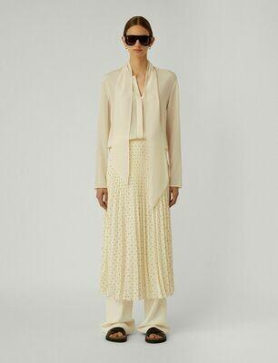 JOSEPH Silk Polkadot Sorence Skirt
