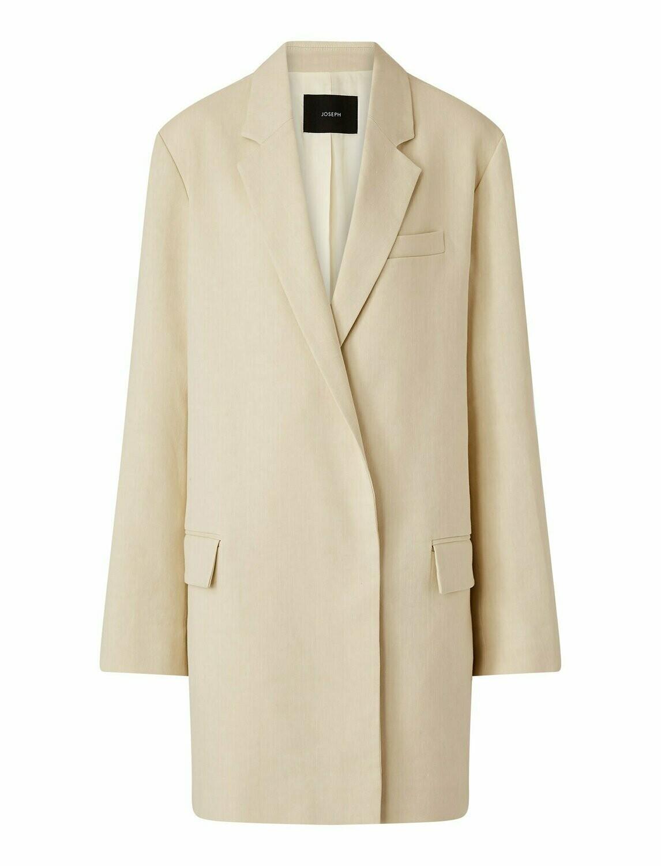 JOSEPH Stretch Linen Cotton Julia Jacket