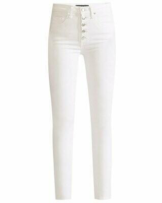 Veronica Beard Debbie High-Rise Skinny Ankle Jeans