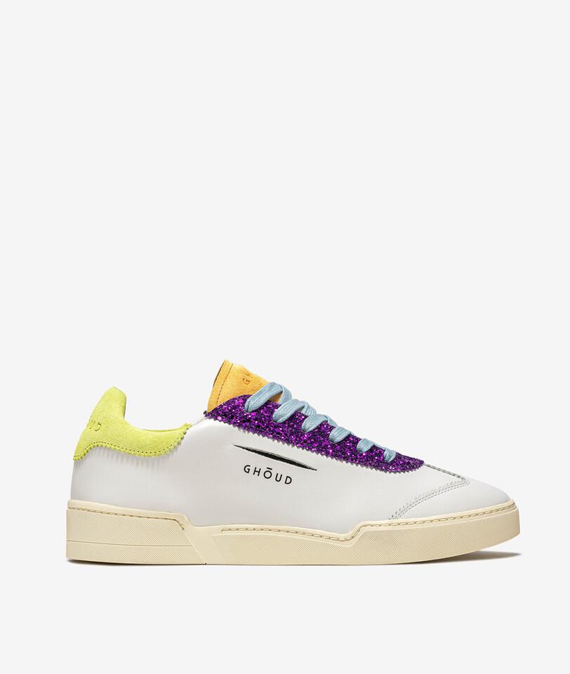 GHŌUD Sportschuh Venice Low white/yellow/purple