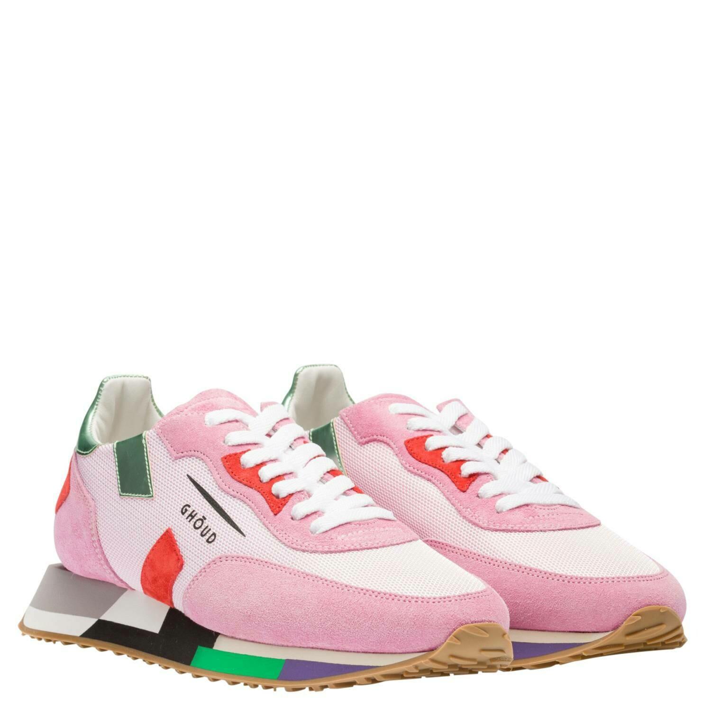 GHŌUD Sportschuh Rush Low Color pink/rot/grün