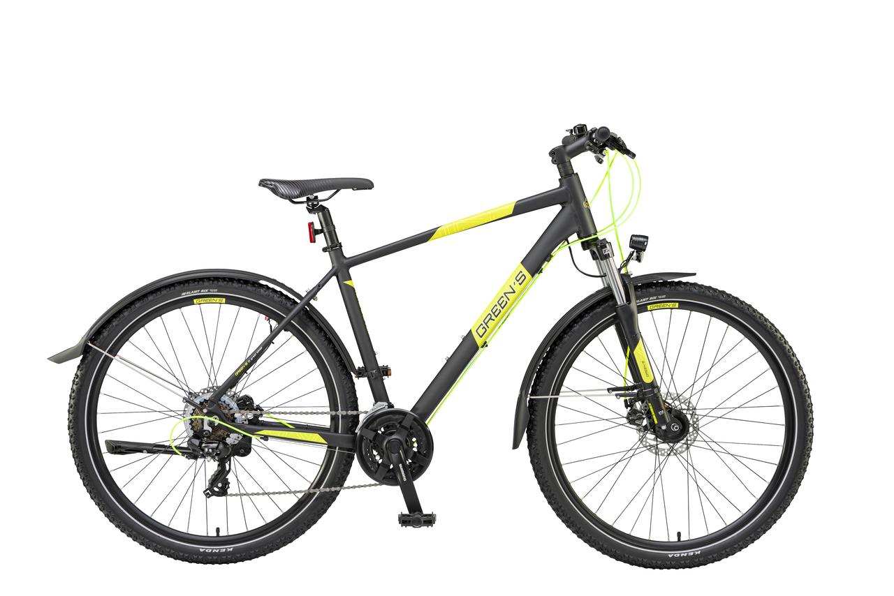 Leicester Mountainbike 27,5 Zoll BLACK-MATT