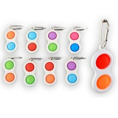 Magic fidget 2 pop it sleutelhanger