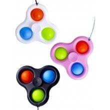 Magic fidget 3 pop it spinner met band
