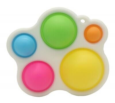 Pop it pad XL 14x12cm Rainbow