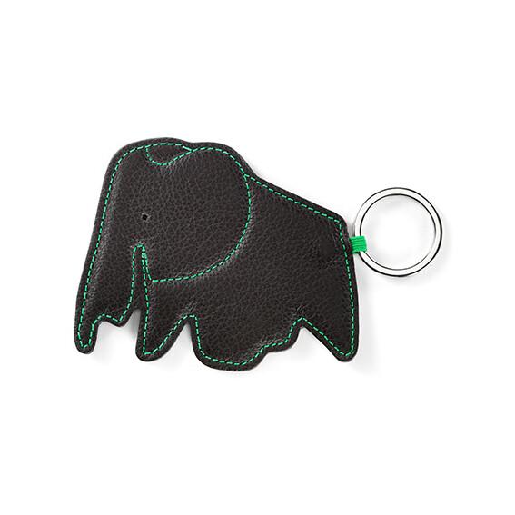 Key Ring Elephant, chocolate