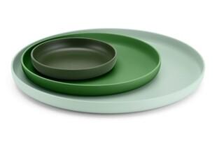 Trays set van 3 Green