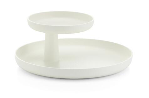 Rotary tray wit