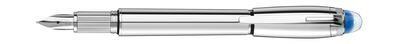 Fountain Pen - Starwalker Metal F - platinum coated