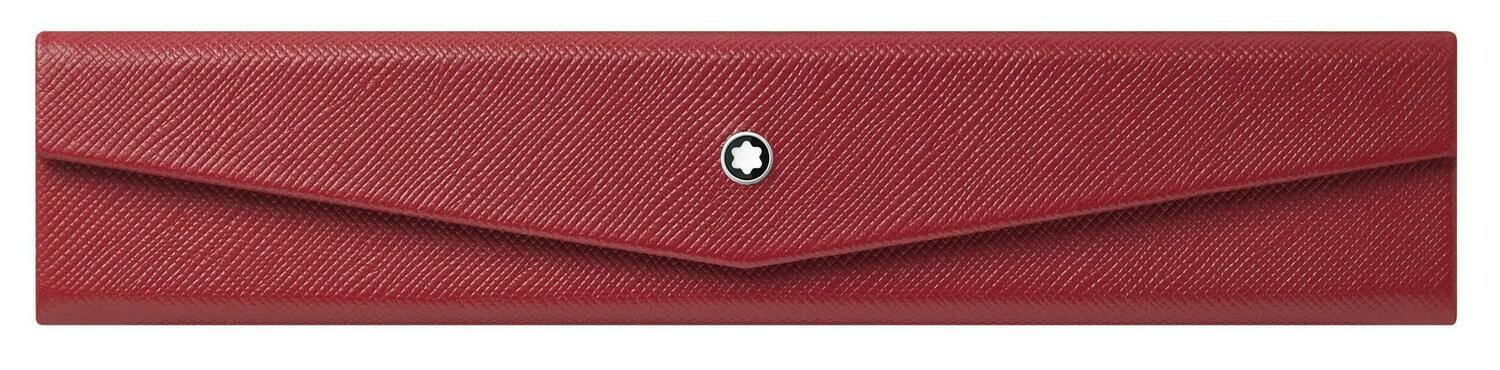 Pen Pouch - Sartorial foldable Red