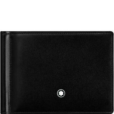 Wallet - Meisterstück 6cc + Moneyclip Black