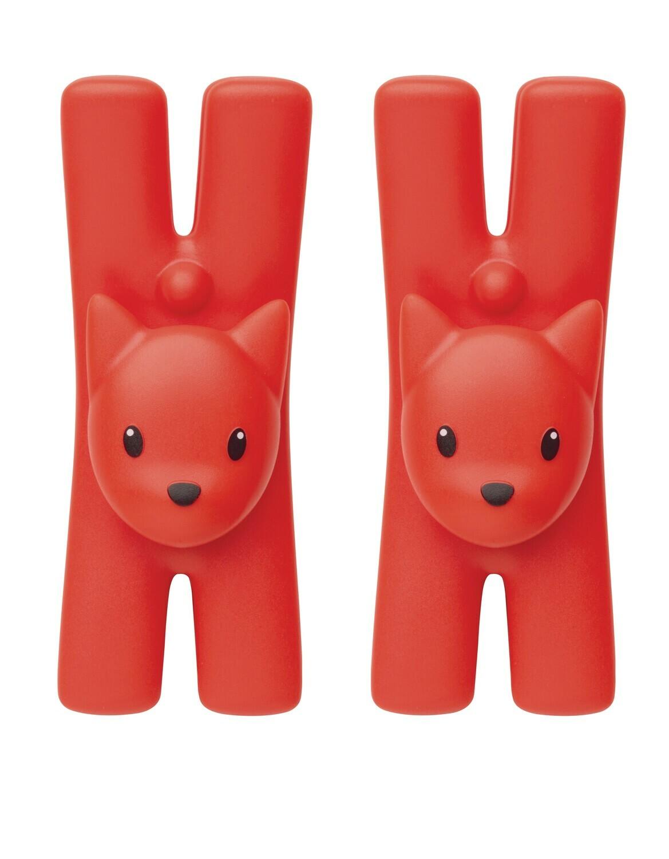 Magnet clips set 2 rood
