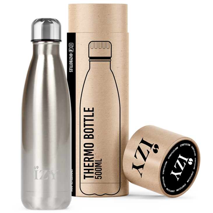 Zilver 500ML thermosfles / drinkfles Rocky Mountain