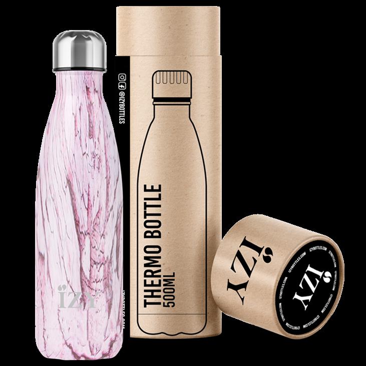 Roze 500ML thermosfles / drinkfles Design Roze