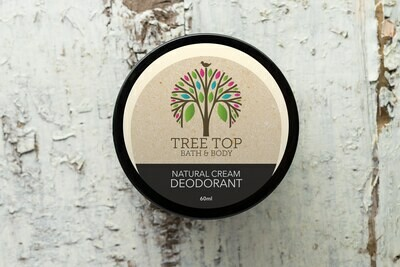 Tree Top Bath & Body: Natural Cream Deodorant