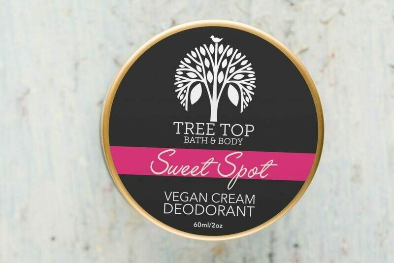 Tree Top Bath & Body: Sweet Spot Vegan Cream Deodorant
