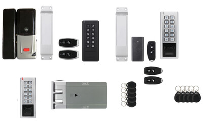 Dowshu Dow ACL 264. Wireless Electronic Door Entry System with Electric Lock
